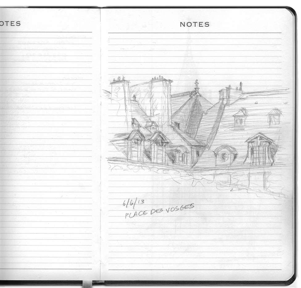 Places des Vosges 6-6-13 copy.BWC